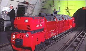 Mail-Rail-Zug